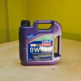 Масло Liqui Moly Synthoil 0w40 4л