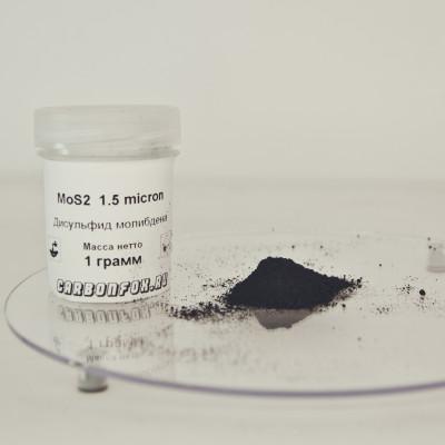 Дисульфид молибдена MoS2 1.5 микрон