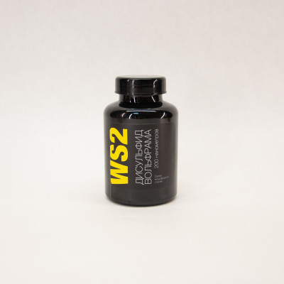 Дисульфид вольфрама WS2 200 нм